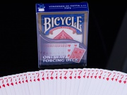 Karty Bicycle one way forcing deck