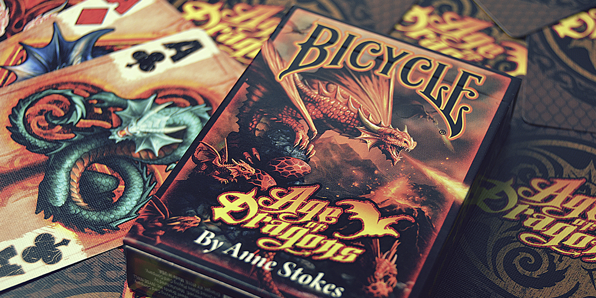 Karty Bicycle Age of Dragons - Anne Stokes