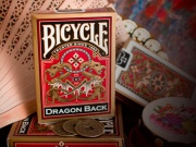 Karty Bicycle Dragon Gold Back