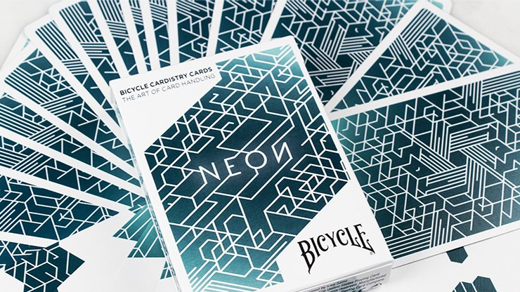 Karty Bicycle Neon Cardistry