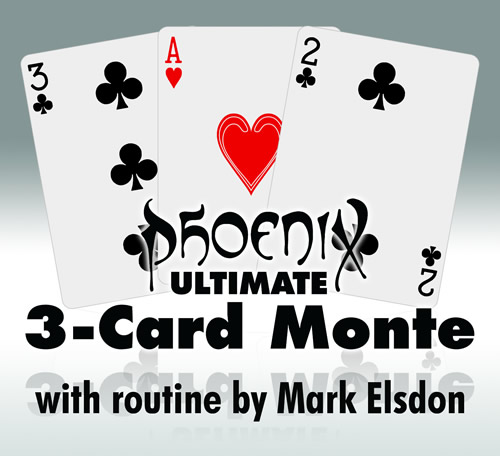 Ultimate 3-card Monte - Mark Elsdon